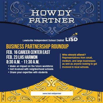 LISD Business Partnership Roundup Spotlight