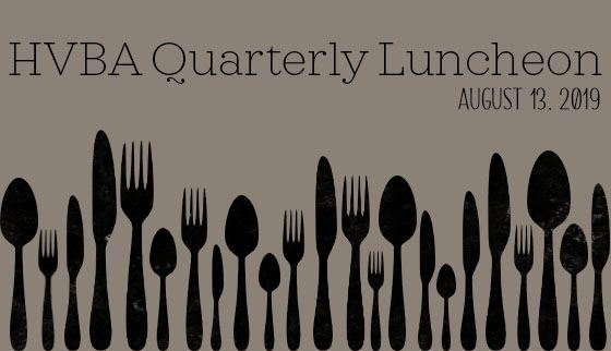 Quarterly Lunch - August 2019
